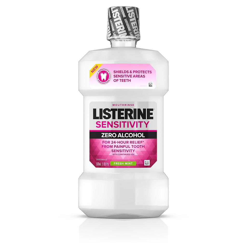Listerine Sensitivity Zero Alcohol 500ml