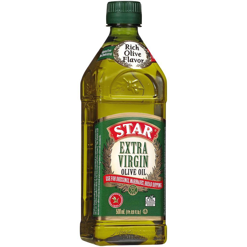 Aceite de Oliva Extra Virgen Star 500ml